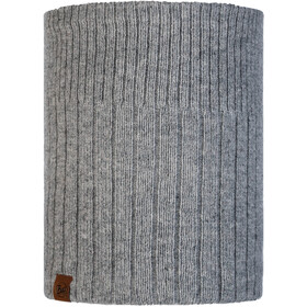 Buff Lifestyle Knitted and Polar Fleece Margo Nekwarmer, kort light grey